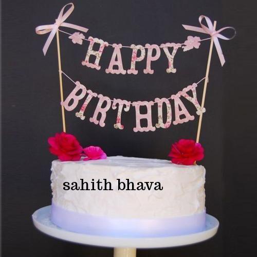 Write Name On Sweet Birthday Wishes Cake Online