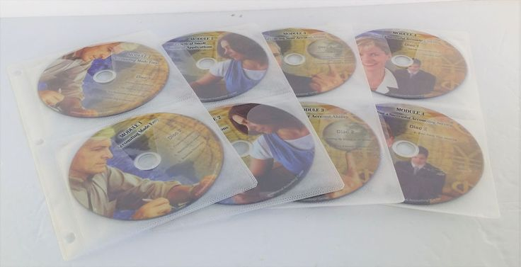 Universal Accounting Professional Bookkeeper Course 4 Modules 16 Discs #EntireCourseonDVD