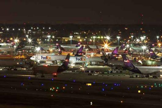 FedEx Super Hub in Memphis, USA