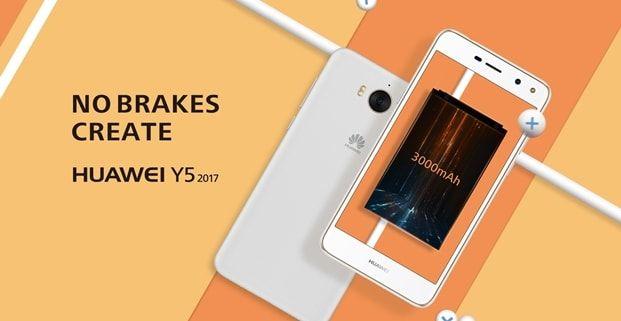 Huawei Y5 2017, cel mai nou smartphone de buget al companiei – vine cu un display de 5″, conectivitate 4G și 2 GB RAM