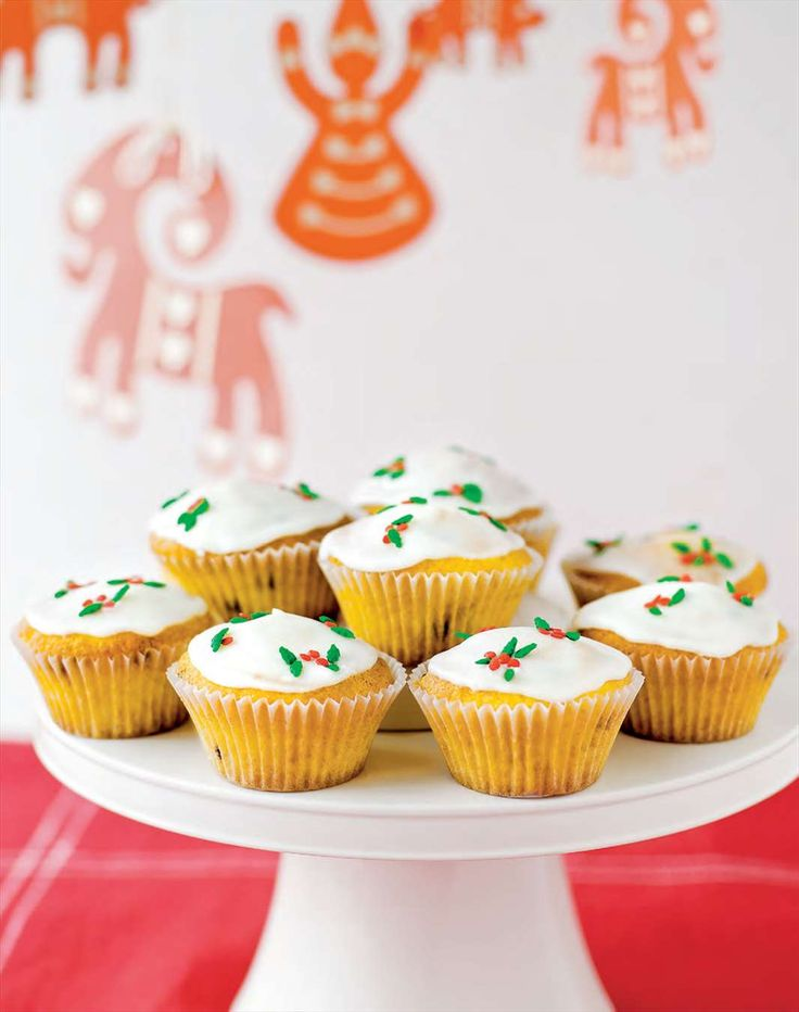 Festive cupcakes by Margaret Fulton from The 12 Days of Christmas | Cooked