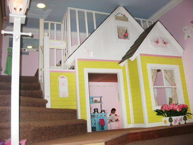 55 best kid play houses images on Pinterest | Playhouse ideas, Kid ...