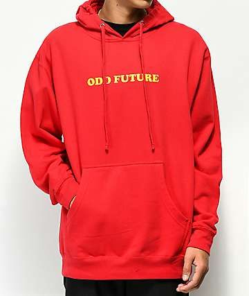 4a40084c7213 Odd Future x Santa Cruz Screaming Donut Red Hoodie