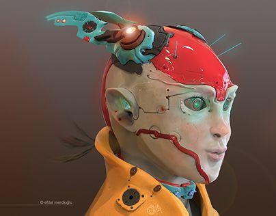 "Check out new work on my @Behance portfolio: ""Cyborg Girl"" http://be.net/gallery/52658545/Cyborg-Girl"
