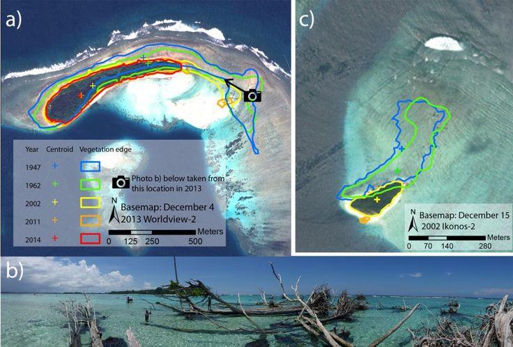 Sono stati sommersi dall'Oceano, divorate dall'erosione costiera. Un team di ricercatori australiani ha stabilito che sono cinque gli atolli scomparsi