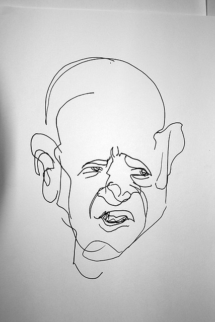Blind Contour Line Drawing Tutorial : Best blind drawing ideas on pinterest contour