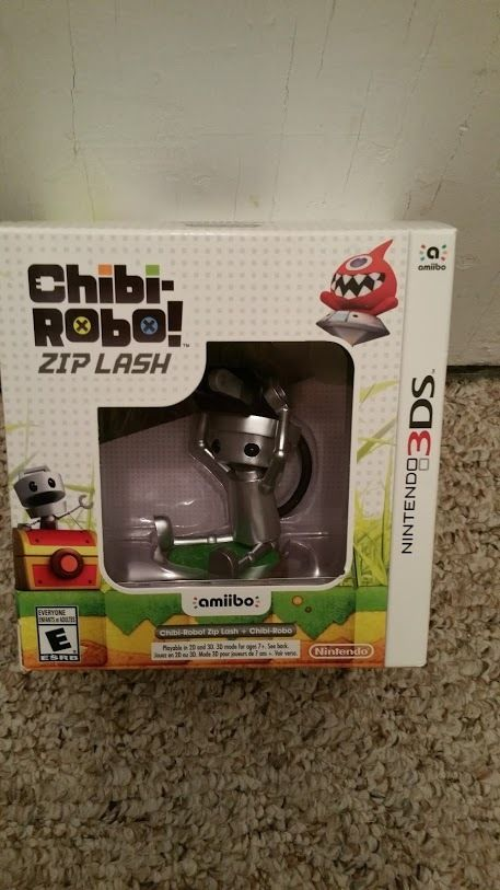 Brand New Chibi-Robo!: Zip Lash w/Chibi-Robo amiibo bundle Nintendo 3DS Bundle #NotApplicable