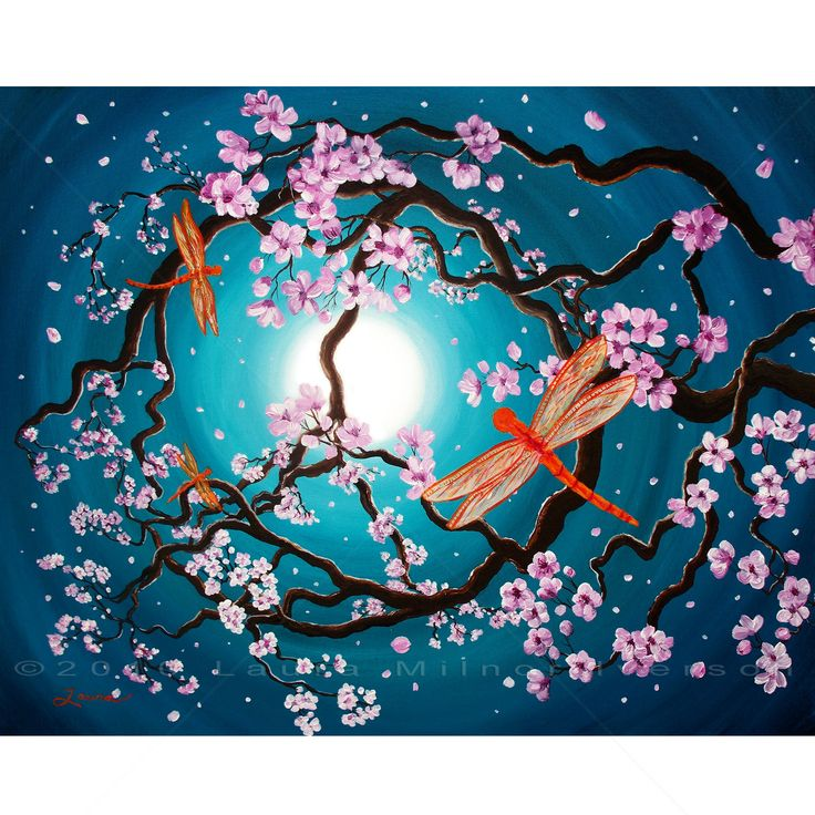 Pin by Otaku Search on Japanese Art | Dragonfly painting ...