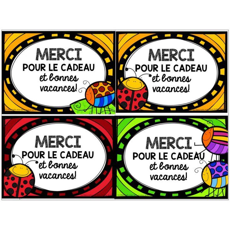"""Cartes """"Bonnes vacances!"""" (gratuit!)"""