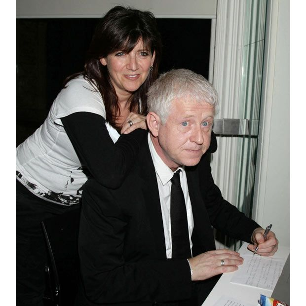 Richard Curtis, screenwriter (Four Weddings and a Funeral; Notting Hill; Love, Actually) and director (Love, Actually and numerous tv shows) and founder of Comic Relief with his partner Emma Stone.