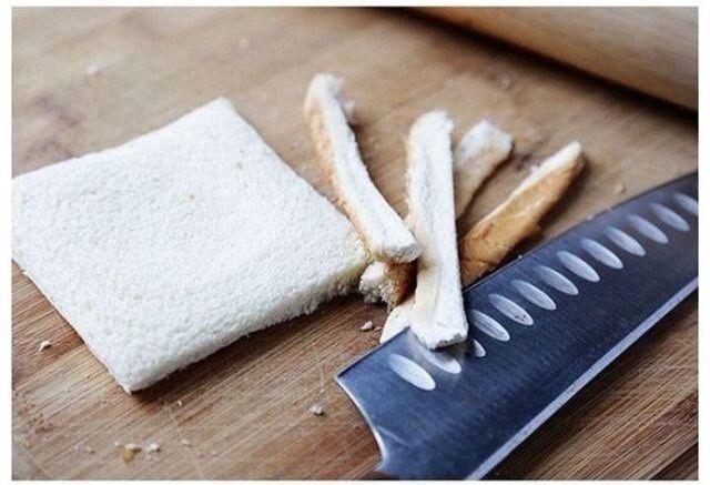 Хлебные рулетики