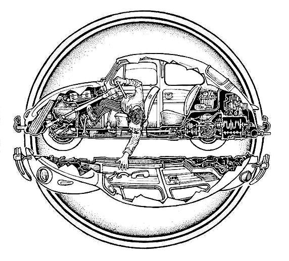 17 best images about vw beetle drawings on pinterest