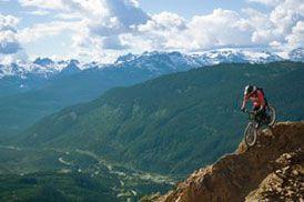 Mountain Biking in Whistler Canada