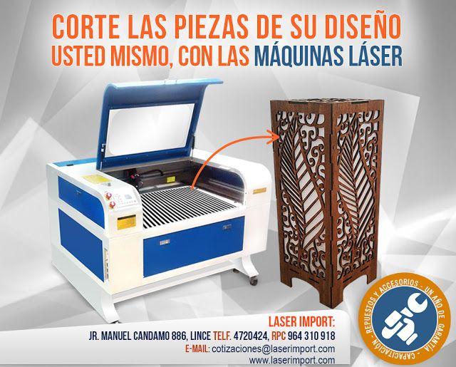 Laser Import: MÁQUINAS DE CORTE LÁSER - Corte láser en distintos...