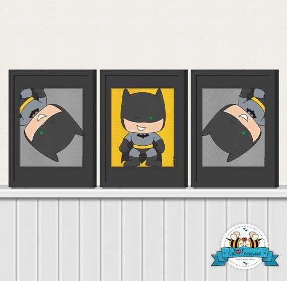 Batman room clay nolan henson pinterest art for Kids batman room