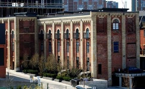 27 Old Brewery Lane   The Malthouse Loft Towns   The heritage malthouse building was converted into 10 generously sized loft units. The 19th century details of the original building however have been maintained so as to both preserve the history of this site. #Toronto #Lofts #Condos