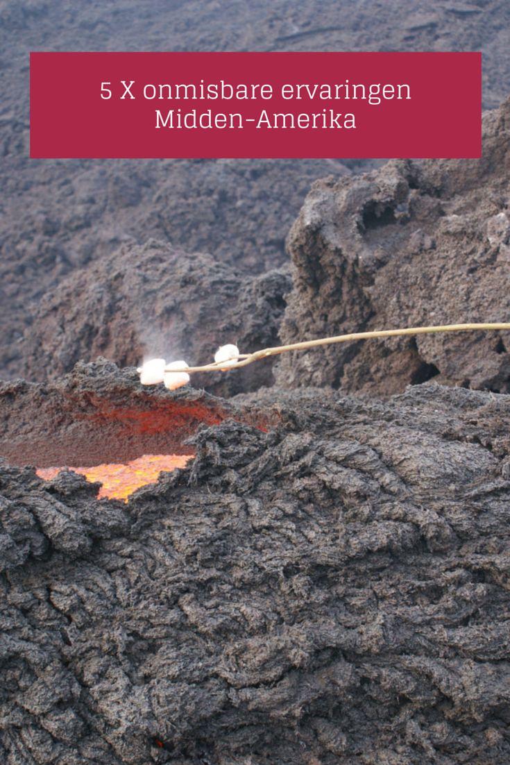 Marshmallows roosteren boven een actieve vulkaan en andere onmisbare ervaringen tijdens een vakantie in Midden-Amerika.