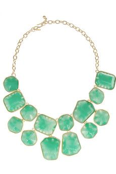 Kenneth Jay Lane Gold-plated resin necklace | THE OUTNET