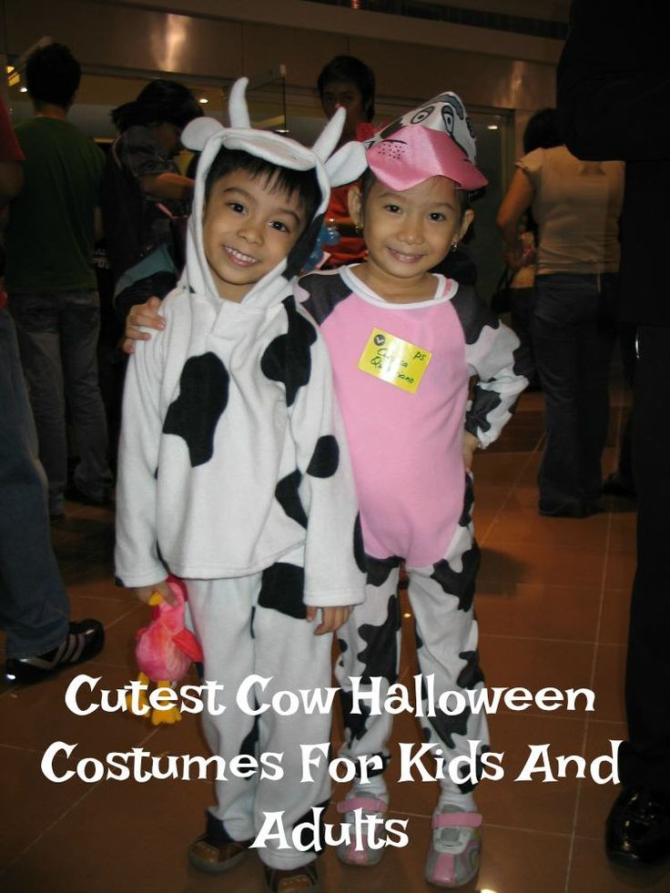How about some cute cow Halloween costumes for the whole family? Here are the cutest cow costumes for kids and adults for Halloween parties or just for fun.