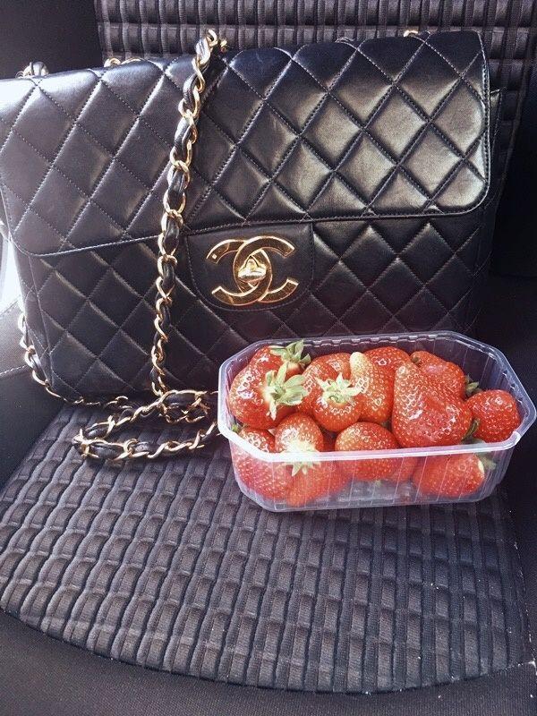 Klassische Vintage Chanel Tasche