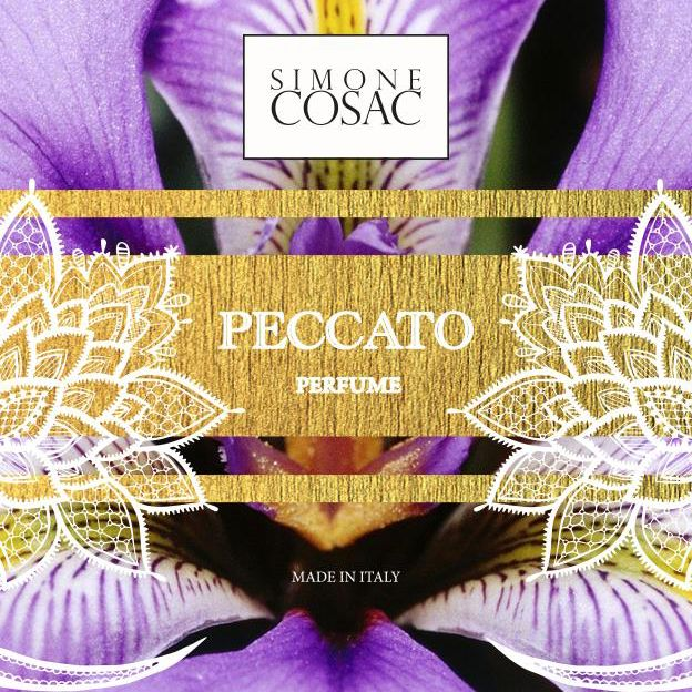 PECCATO one of the new Perfumes of Simone Cosac.