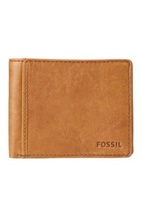 Fossil Women's Ingram Leather Bifold With Flip Id Wallet -  - No Size