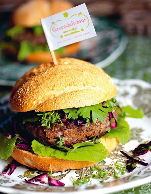 Vegetarische hamburger -