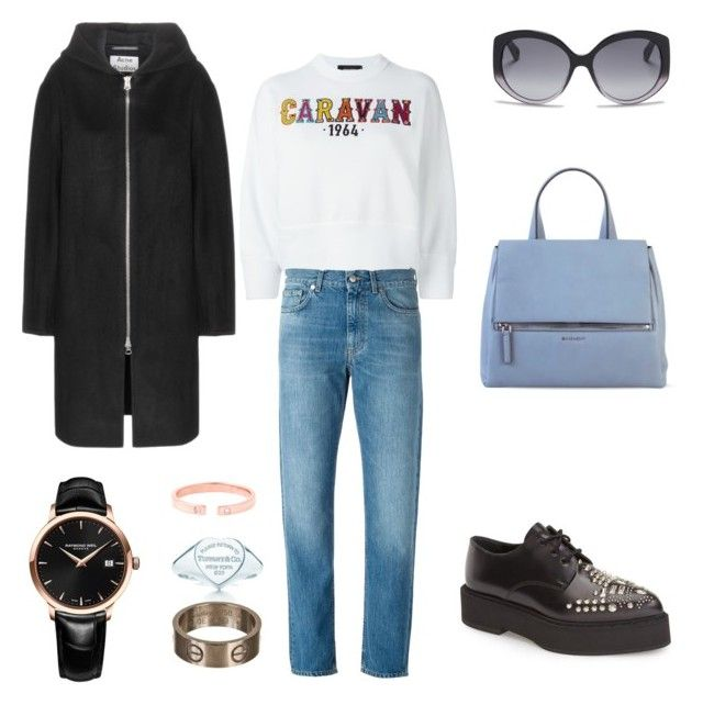 """""""What she wants to do if she can get the time to do it, is not so much to live in the past as to open it up and get one good look at it."""" by choi-eun-ri on Polyvore featuring polyvore, fashion, style, Dsquared2, Acne Studios, Alexander McQueen, Givenchy, Raymond Weil, Cartier, Tiffany & Co., Tara 4779 and Christian Dior"""