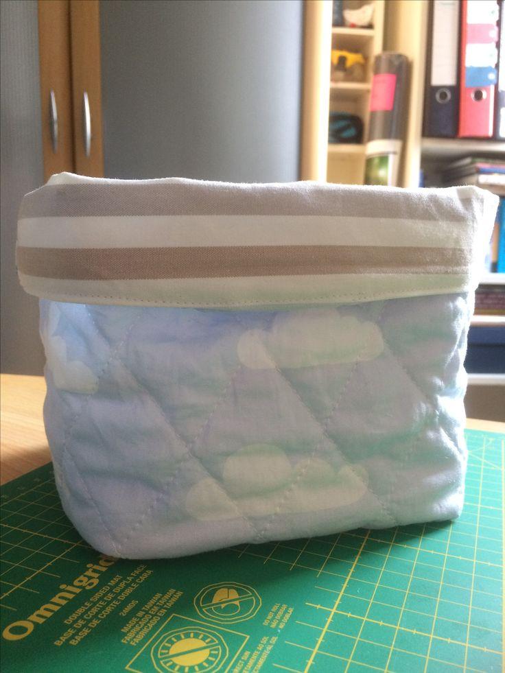 Fabric storage box https://youtu.be/Xsiql0Rc7M4