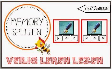 3 Veilig Leren Lezen memory spellen!