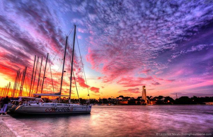 #Brindisi #Marina #Puglia #Viaggi #Turismo #Mare #Tramonto