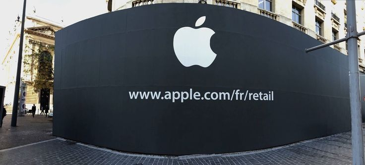 Ouverture officielle Apple centre Lille