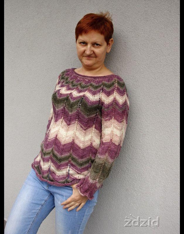 Zygzak - zdzid - Swetry i bezrękawniki