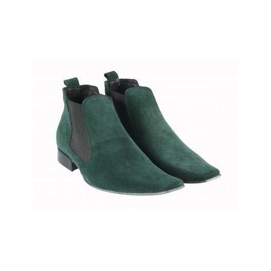 Pánske topánky - zelené - manozo.hu