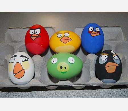 Angry birds easter eggs. Wish I had seen this 3 days ago. Damn.