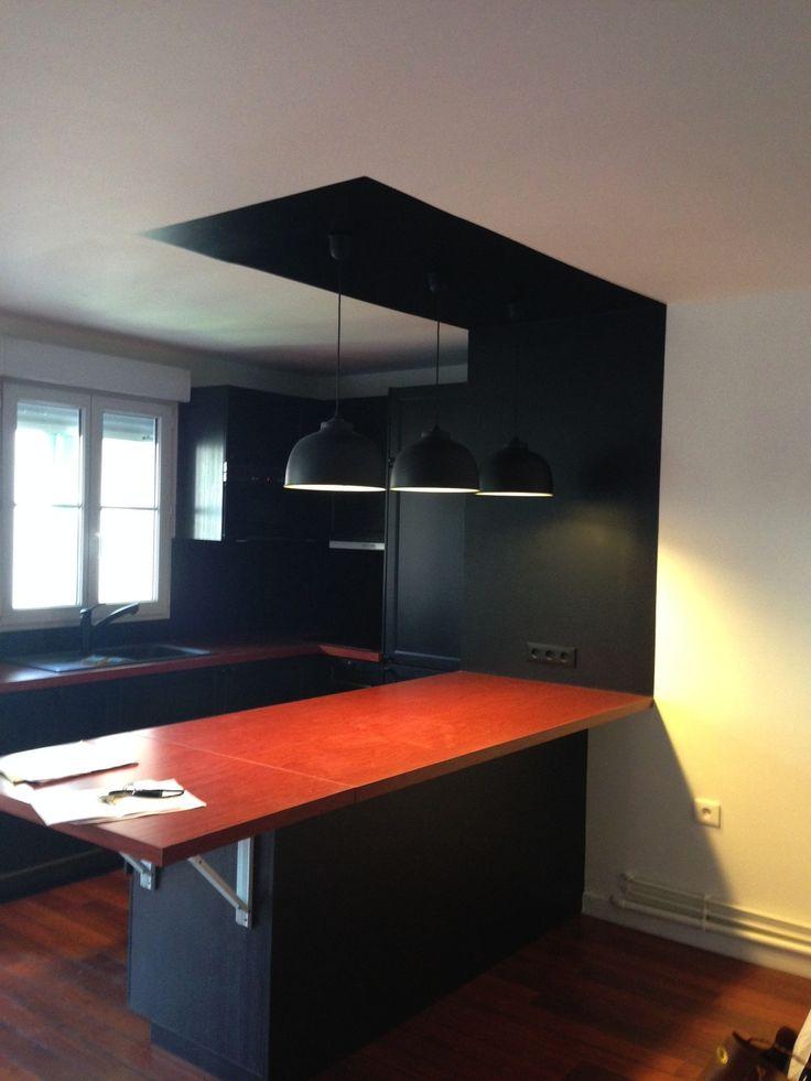 12 best cuisine portes noires images on Pinterest Kitchen ideas