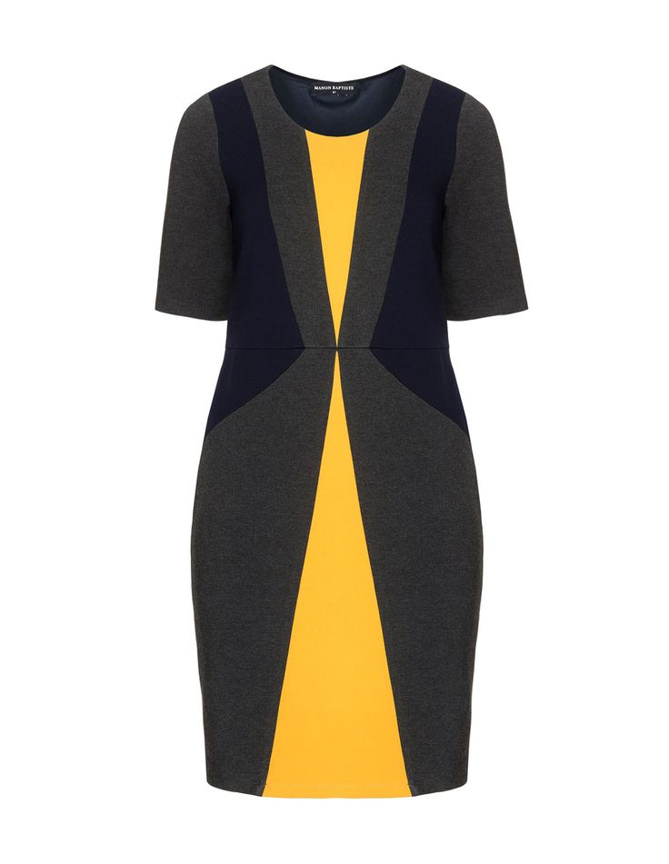 Manon Baptiste Colour-block shift dress