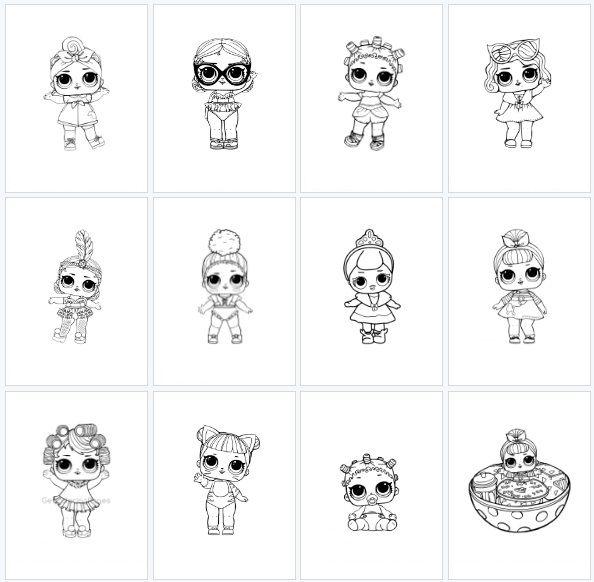 Paps E Moldes De Artesanato Com Imagens Desenhos Para Colorir Bonecos De Lol Colorir