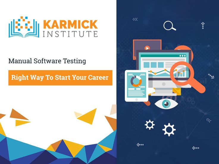 The rapid change in technologies in the IT sector has triggered a fear that the demand for manual software testing professionals will decline massively. The truth is that manual testing is here to stay and it is the right way to kick-start a career in software testing.  #Manualsoftwaretesting