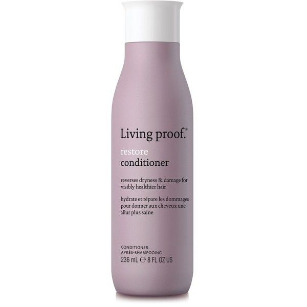 Women's Living Proof Restore Conditioner (1,315 DOP) ❤ liked on Polyvore featuring beauty products, haircare, hair conditioner, beauty, hair, filler, no color, living proof hair care, living proof haircare and living proof
