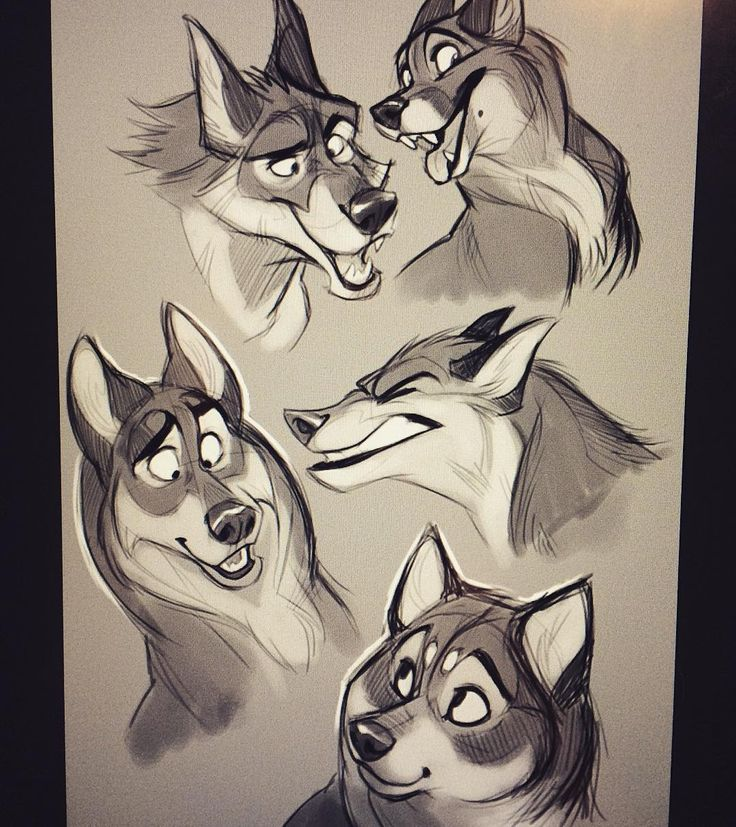 Some more dogs sketched a while ago.