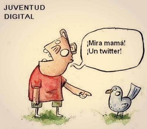 Un twitter? - www.vinuesavallasycercados.com Jajaja