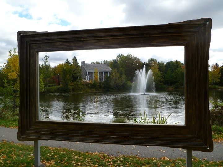 In my hometown, St-Bruno-de-Montarville, Quebec