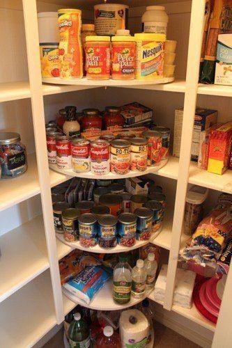Идеи хранения и организация на кухне. | 72 фотографии
