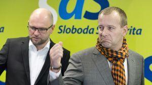 Richard Sulík a Boris Kollár