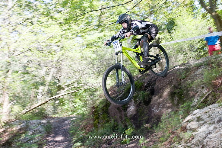 XIV Descenso Asturbike 2013 de bicicleta de montaña, Gijón Asturias. Open de Descenso de Montaña