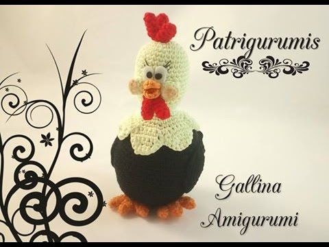 Amigurumi Gallina!! - YouTube