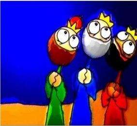Treballar la carta als Reis de l'Orient a l'Educació infantil.