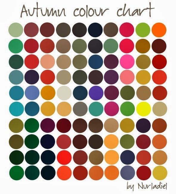 Evolving Fashion - Hair, Nails, Makeup and Clothing!: What color Season are you?