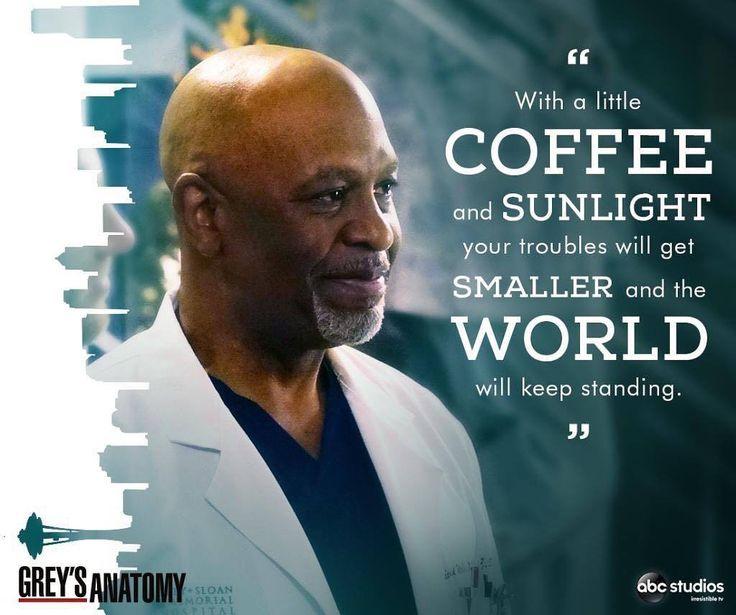 Grey's Anatomy. The world keeps spinning  ★·.·´¯`·.·★ follow Motivatio…